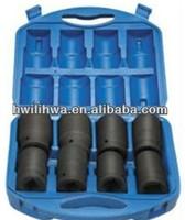 Pneumatic sleeve tire puncture repair kit