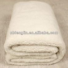 White Colour Thermal Blanket Polar Fleece Blanket Warm Soft And Comfortable Coral Fleece Blanket