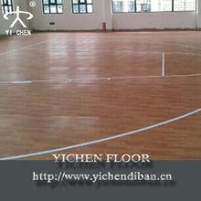 pvc wood floor basketball/pvc wood look vinyl flooring/basketball court foam pvc flooring