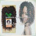 yeni güzellik ürünleri 2014 asil altın gp padiant kıvırcık örgü için sentetik saç