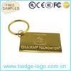 Custom Gold Plated Keychain Tag