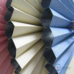 china 25mm fully blackout honeycomb blinds fabric