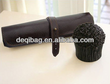 PU leather pencil bag large capacity cosmetic bag stationery bag wholesale