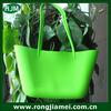 2014 fashion cute girls beach bags silicone foldable bag wholesale