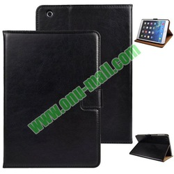 Crazy Horse Pattern PU Leather Case for iPad Mini 2 with Stand