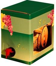 ITALIAN RED WINE IN BAG IN BOX OF 5 LITRES