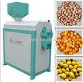500 - 4000 kg/h automatique de la machine d'épluchage de maïs