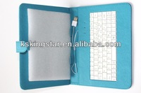 """7"""" 8.9"""" 9.7"""" tablet leather case with keyboard"""