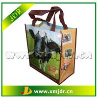 High Quality Reusable Laminated Animal Print Non Woven Bags