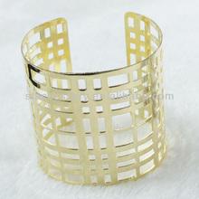 Nice Long Hollow Gold Iron Bracelets Bangle