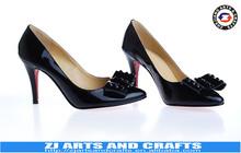 Fashion Genuine Leather Ladies Shoes 2015