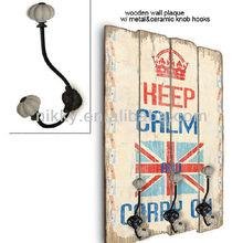 Vintage style design coat hanger/handbag hook&Wholesale cast iron hooks