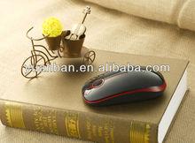 Super slim silent build-in nano receiver 2.4G wireless computer mouse