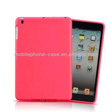 2014 hot sale high quality tpu soft case cover for ipad mini