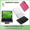 bluetooth keyboard case for samsung galaxy s4 With Removable