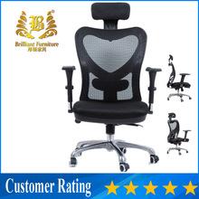 Popular Heavy duty durable silla de oficina popular ergonomic mesh comfortable swivel high back office chair executive