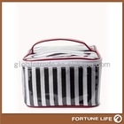 chevron canvas cosmetic bags wholesale,FL-IS0940-Y,China bag manufacturer