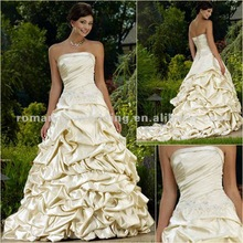 RA0012 Luxuriant Dropshipping New Style Maid Of Honor Wedding Dresses