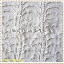 Shanghai (65/35)+32sT/C(65/35) jacquard fabric for clothing t/c dobby