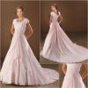 BW0128 Stunning Beaded A-line Taffeta Wedding Dress