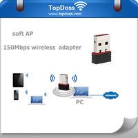2.4G 802.11 B/G/N Strong signal wireless lan adapter
