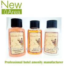Hotel shampoo,bath gel,conditioner,body lotion in bottle 30ml