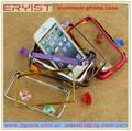 celular case de alumínio para o iphone da apple 5 5s 5c uso