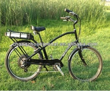 Adult beach electric bicycle for north American market