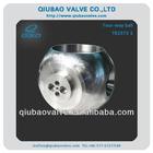 1' four way ball valve