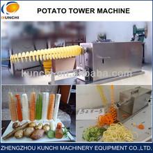 China hot sale durable twister tornado spiral potato cutter