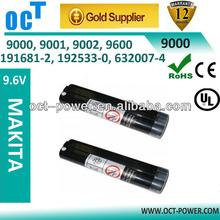 9.6v 2200mAh Battery for Makita 9000, 9001, 9002, 9600