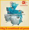 mini screw cashew nut oil processing machine with filter machine