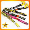 Wholesale High Quality Custom Festival Fabric Wristbands for Events