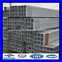 Strcuture steel hot dipped galvanized square tubes