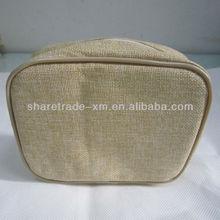Hot Sell Natural Jute Cosmetic Bags