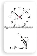 10inch Modern seiko melting metal wall clock for children