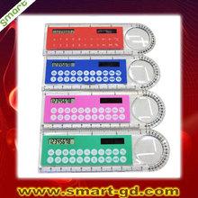 calculator promotion gifts, ruler calculator, solar calculator