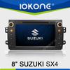 In dash double din touch screen autoradio car DVD player GPS navigation system for Suzuki SX4
