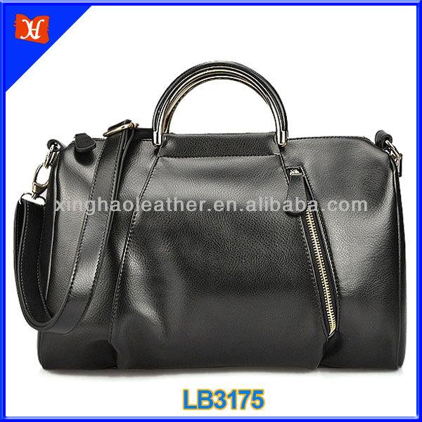 Favorites Compare Italy Design Top Zip genuine leather handbag wholesale,black patent leather handbag,vintage leather handbag