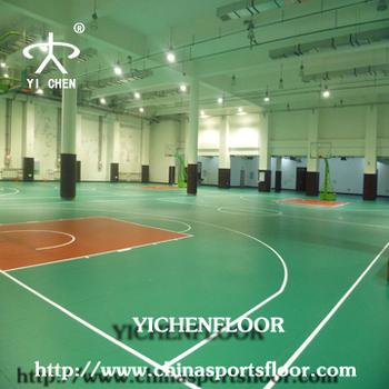 Indoor fire retardant basketball flooring,pvc wood flooring