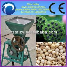 best quality lotus nut sheller/lotus seed peeler/lotus nuts shelling machine 0086-13503826925