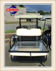 Golf Cart Rear flip Seat Kits for Club Car Precedent White