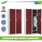 2 door bedroon clothes storage wall-mounted metal armoire steel cabinet