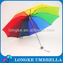 [FM3210]3 foldable rainbow umbrella all types of umbrellas rain gear