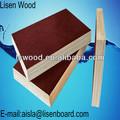 18 mm resina fenólica placa, Formas concretas madeira compensada, Rodada Concrete Form