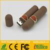 Brown cigar shape usb flash pen drives