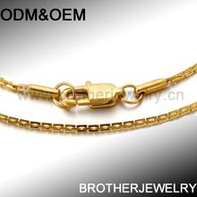 wholesale plate gold vintage necklaces fluorescent