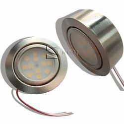 230v led kitchen puck light lighting kit 2w