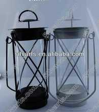 metal lantern for candle