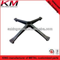 Aluminium Die Casting Chair Foot/Base/Leg of Furniture Part